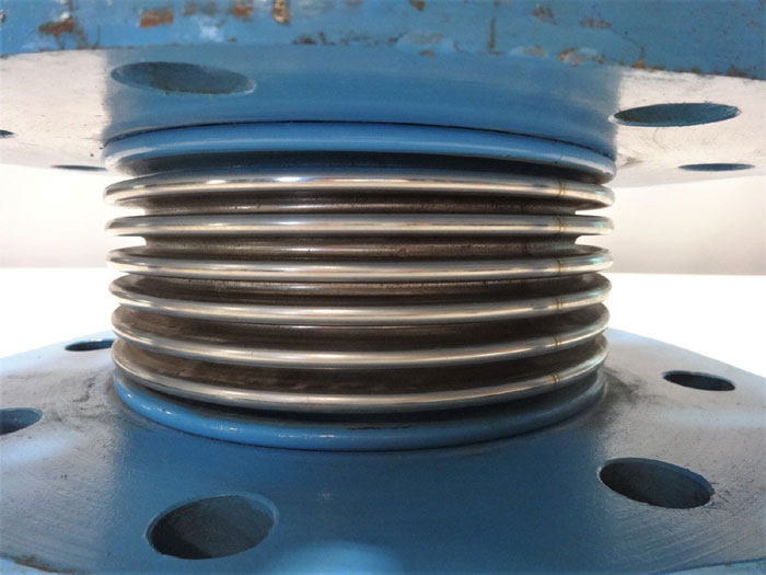 """3-SPOKE EXPANSION JOINT, 6"""" X 4"""", STAINLESS STEEL BELLOW"""
