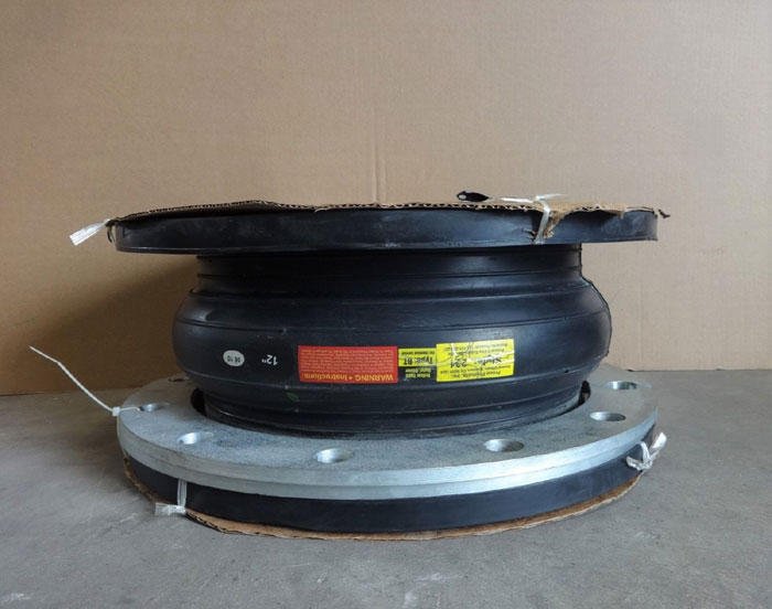 "PROCO PROTECTOFLEX 12"" X 8"" EXPANSION JOINT, STYLE 231, TYPE BT W/ SPLIT FLANGES"