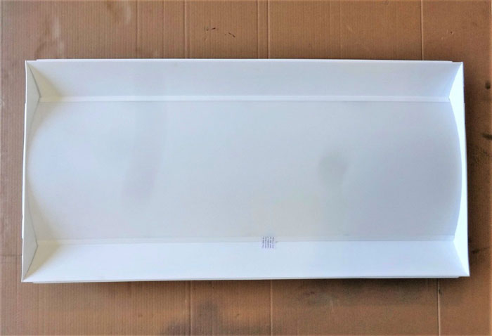 LITHONIA LIGHTING RECESSED LED LUMINAIRE FIXTURE 2FSL4-40L-EZ1-LP850