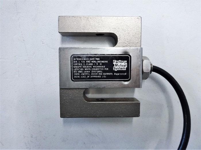 REVERE TRANSDUCER LOAD CELL, 3.0mV/V AT 100 LBS, MODEL 363-D3-100-20P1