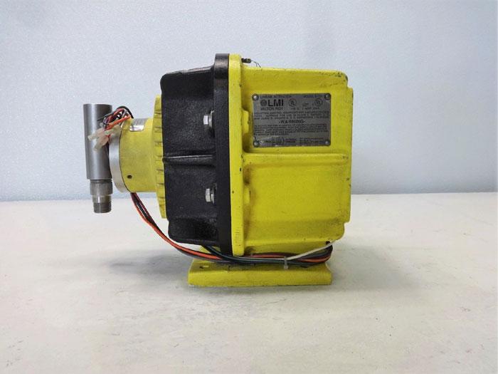 LMI Milton Roy E731-27 Metering Pump, 9.00 GPH, 60 PSI, Explosion Proof Series