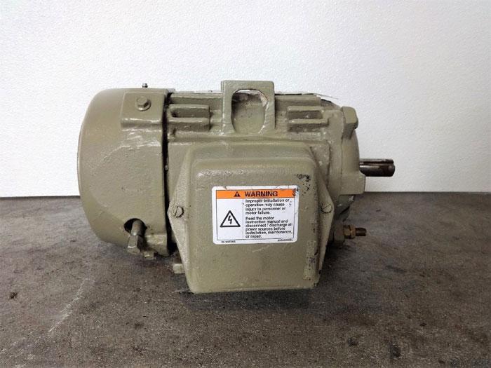 GE H361 Extra Severe Duty AC Motor 5KS145XAA220, 2HP, 1735RPM, IEEE-STD-841-2001