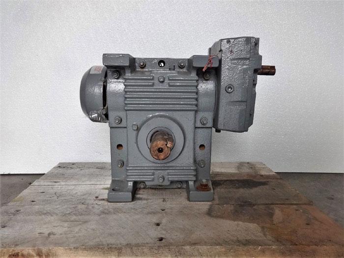 Nuttall Gear Delroyd Gearbox HE35-120-B1, 124.3 Ratio