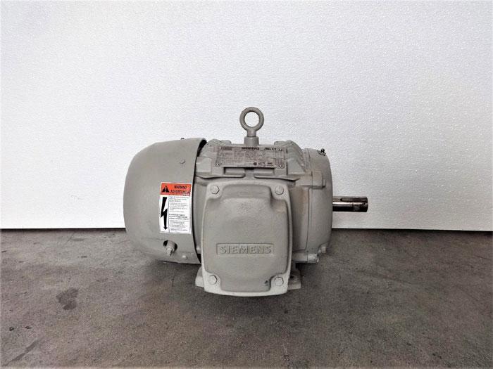 Siemens 5 HP NEMA Premium Efficiency Motor, Type SD100, 1LE23211CB314AA3