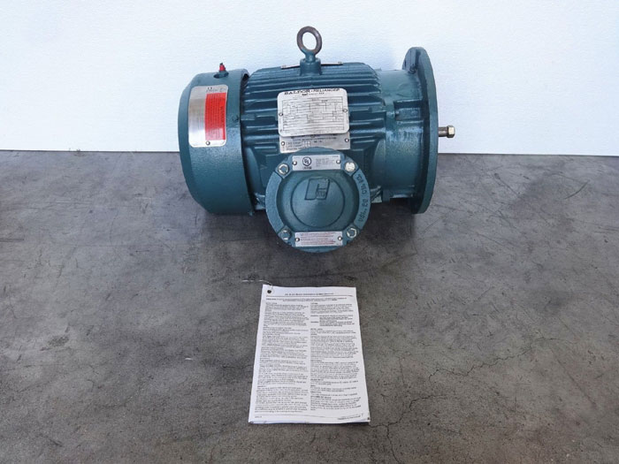 Baldor Reliance 5HP Super E Severe Duty XEX Motor B506077