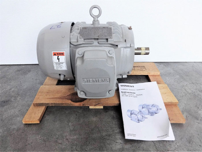 Siemens 3 HP NEMA Premium Efficiency Motor, Type SD100, Part 1LL23111CB114AA3