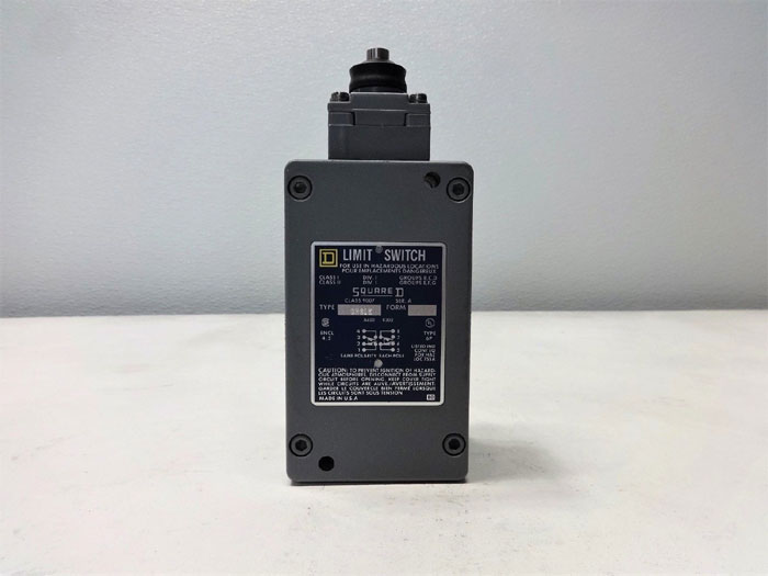 Square D Limit Switch, Type CR61E, Class 9007