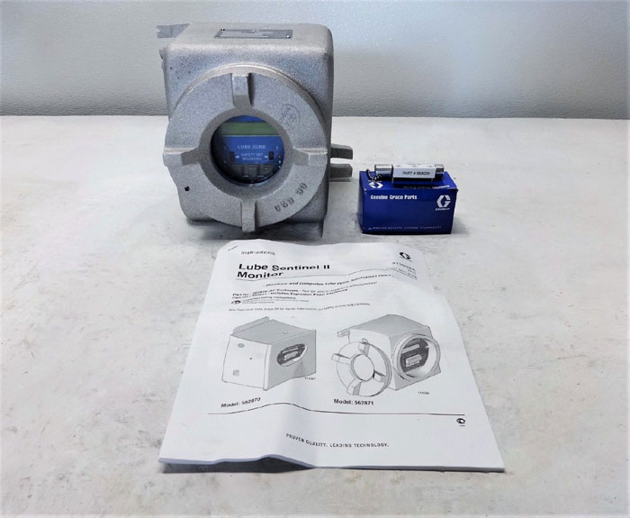 Graco Lube Sentinel II Lubrication System in Explosion Proof