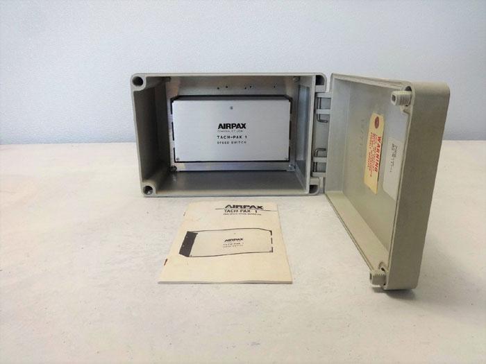 Airpax Tach-Pak 1 Speed Switch w/ Enclosure