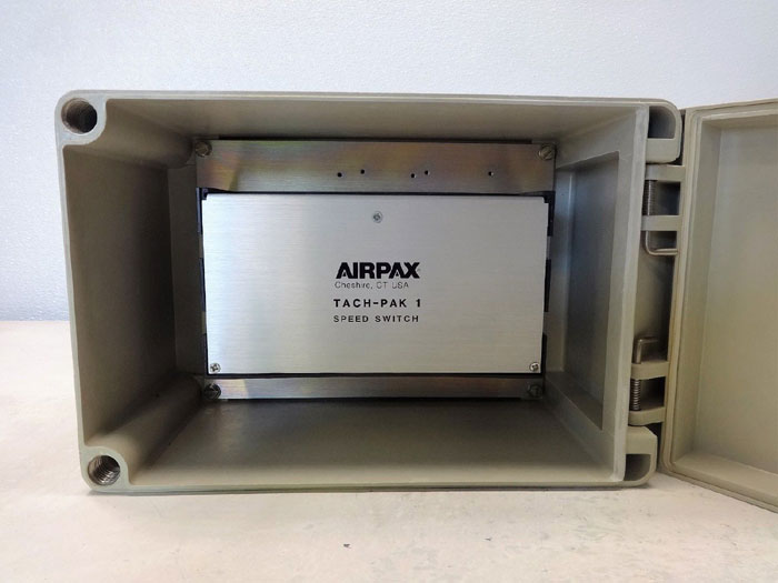 Airpax Tach-Pak 1 Speed Switch w/ Enclosure