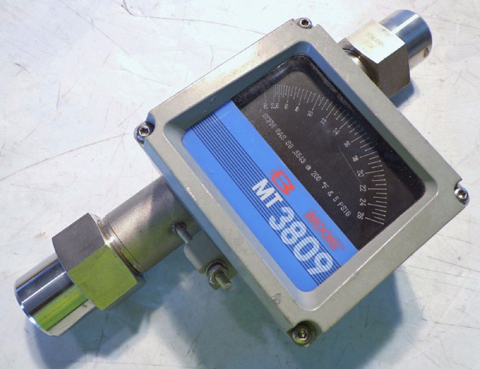 "BROOKS 1"" MT3809 VARIABLE AREA FLOW METER 3809E13A1KAA1A1"
