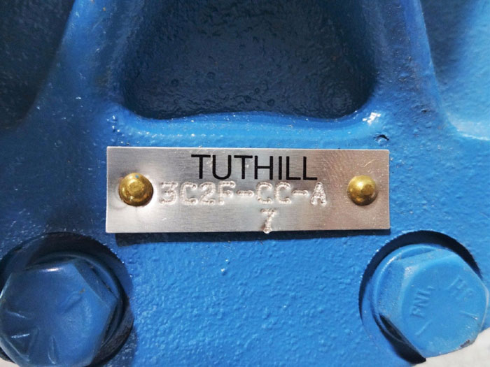 "TUTHILL 1-1/4"" LUBRICATION PUMP 3C2F-CC-A"
