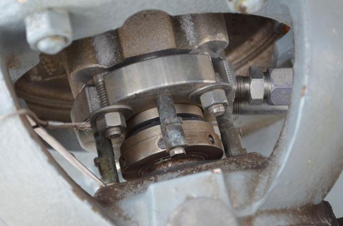 Flowserve Durco Mark 3 Centrifugal Pump, MK3 Standard, 1K1.5X1-82/6.63 RV, CD4M