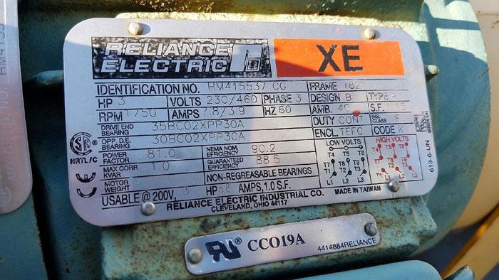 Flowserve Durco Mark 3 Centrifugal Pump, MK3 Lo-Flo, 1L1.5X1:F-82/5.94 OP, CF8M