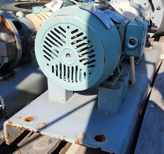 Flowserve Durco Mark 3 Centrifugal Pump, MK3 Lo-Flo, 2K2X1LF-10/9.56 OP, 316SS