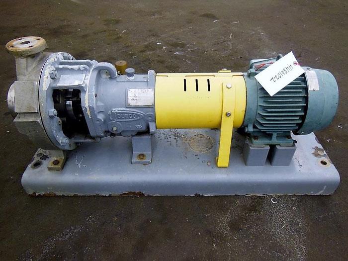 Flowserve Durco Mark 3 Centrifugal Pump, MK3 Lo-Flo, 2K2X1LF-10/9.94 OP, CF8M