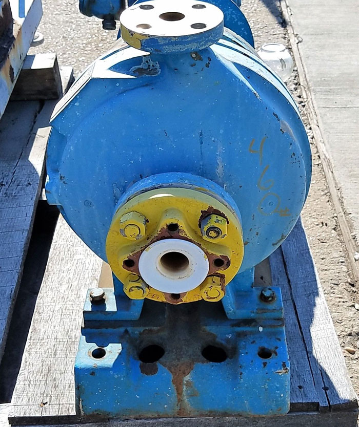 Goulds Centrifugal Pump, 3196, Size 1x2-10, Hastelloy B