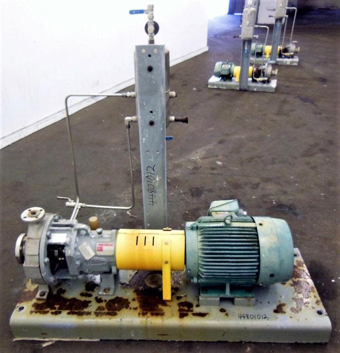 Flowserve Durco Mark 3 Centrifugal Pump, MK3 STD, 2K2X1-10A/7.75RV, CD4M/CD4MCu