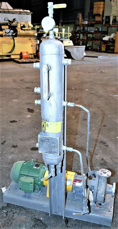 Flowserve Durco Centrifugal Pump, MK3 STD, Size 1K1.5X1-82 OP/7.56, Stainless