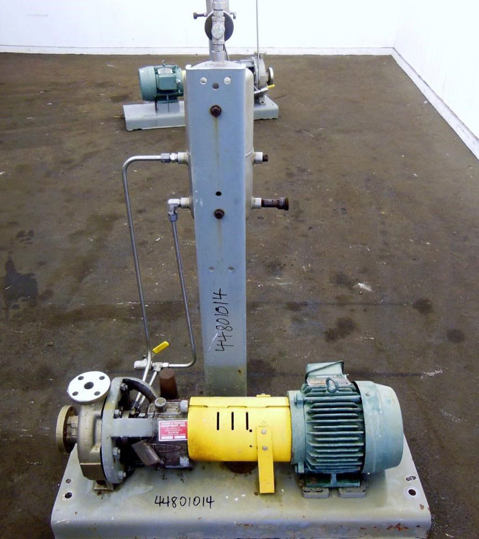 Flowserve Durco Mark 3 Centrifugal Pump, MK3 STD, 1K1.5X1-82/6.63RV, CD4M/CD4MCu