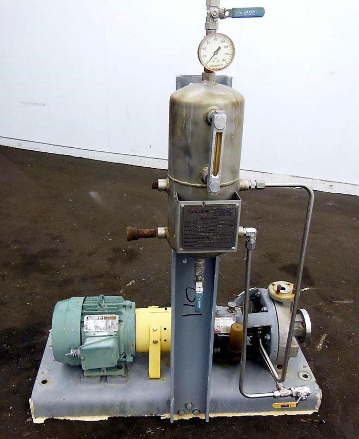 Flowserve Durco Centrifugal Pump, MK3 Lo-Flo, 1K1.5X1LF-82/4.88 OP, CD4M/CD4Mcu
