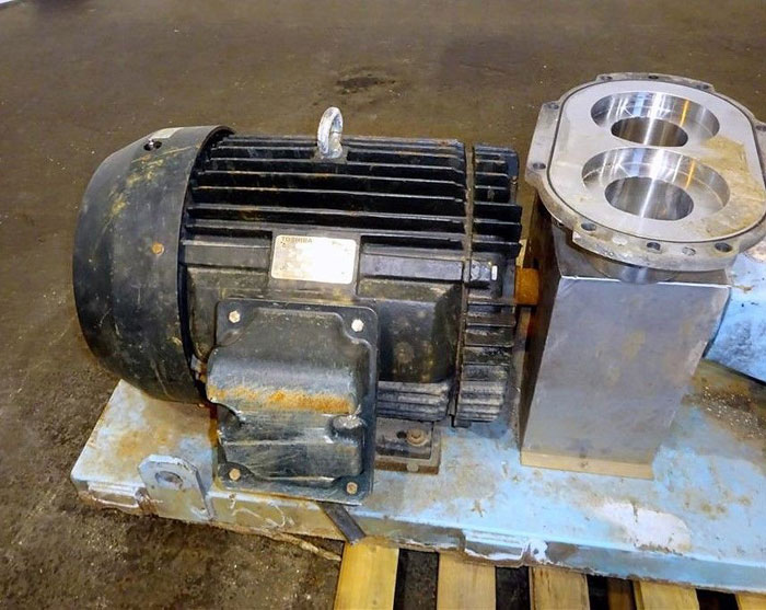 "Waukesha 6"" Rotary Positive Displacement Pump, Model 320, Stainless (47384095)"