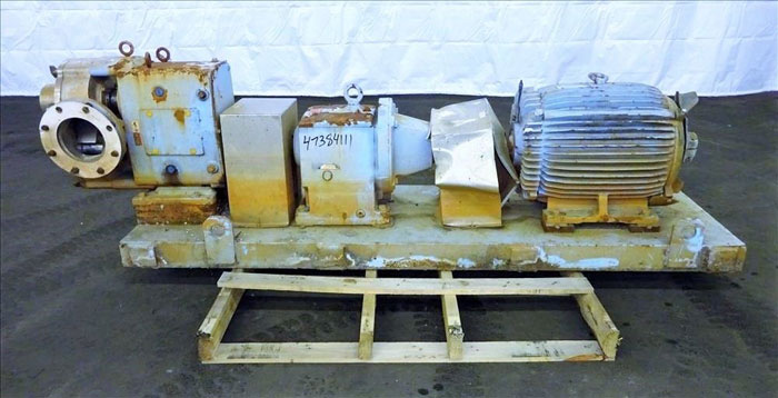 "Waukesha 6"" Rotary Positive Displacement Pump, Model 320, Stainless (47384111)"