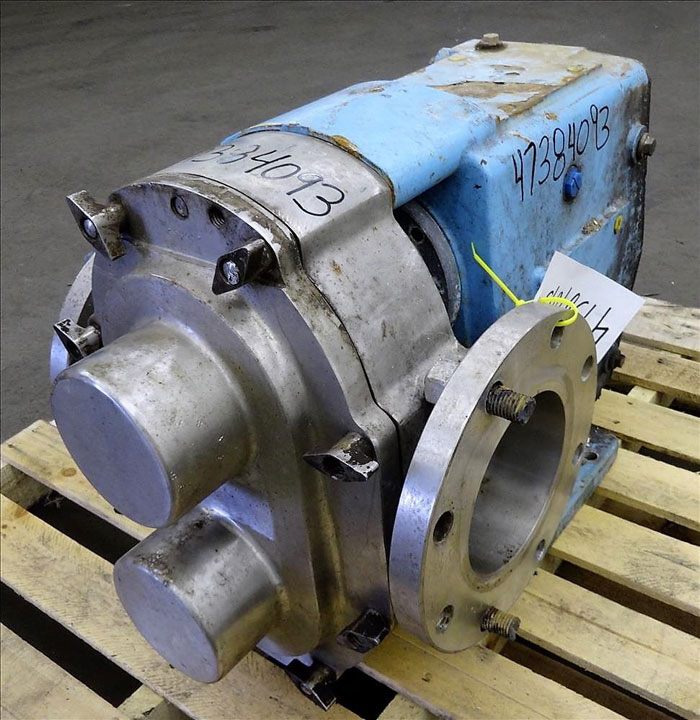 "Waukesha 6"" Rotary Positive Displacement Pump, Model 320, Stainless (47384093)"