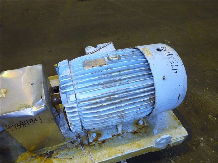 "Waukesha 6"" Rotary Positive Displacement Pump, Model 320, Stainless (47384104)"