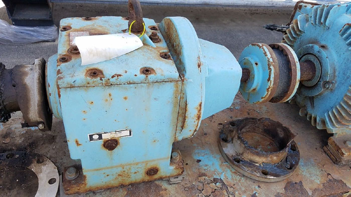 """Waukesha 6"""" Rotary Positive Displacement Pump, Model 320, Stainless (47384098)"""