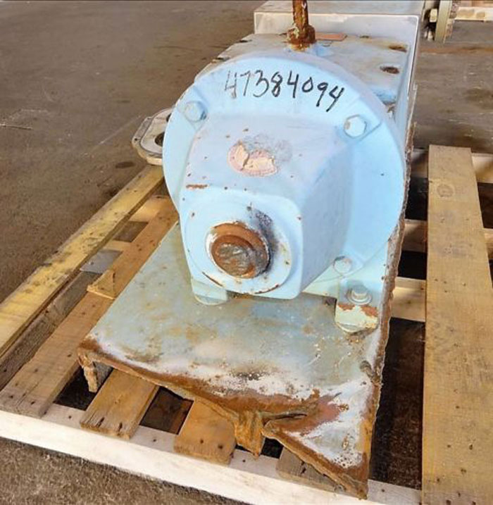 "Waukesha 6"" Rotary Positive Displacement Pump, Model 320, Stainless (47384094)"