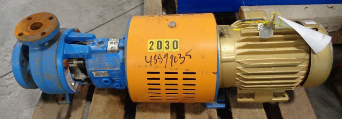 Goulds 3196 i-Frame Centrifugal Pump, Size 1.5X3-6, Ductile Iron (48899035)