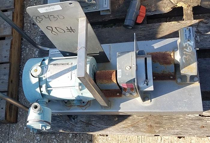 Randolph Peristaltic Hose Pump, Model 610, Aluminum Housing (85430)