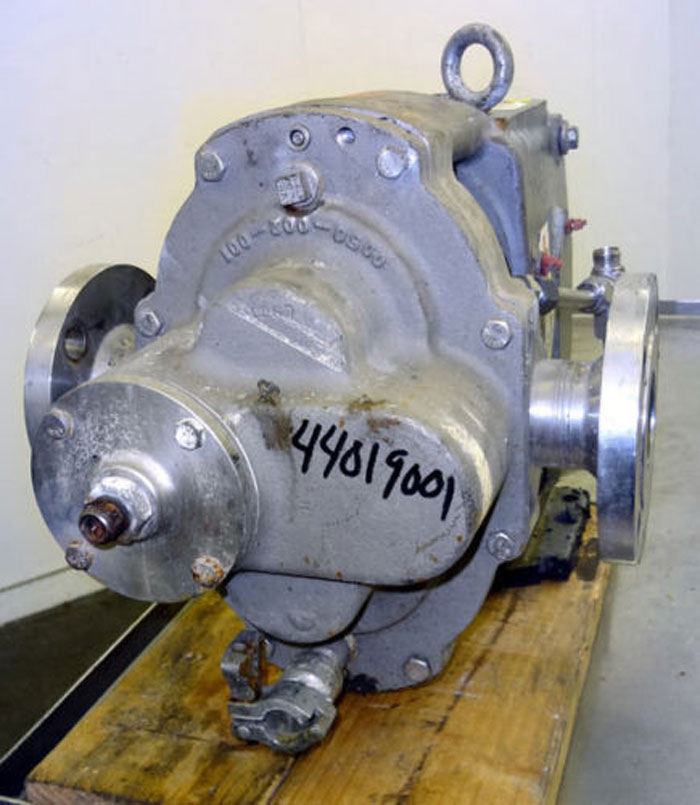 Waukesha 5050 Rotary Positive Displacement Pump, Stainless (44019001)