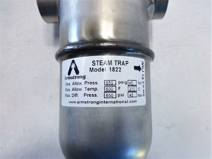 "Armstrong 1"" NPT Inverted Bucket Steam Trap, Model 1822"