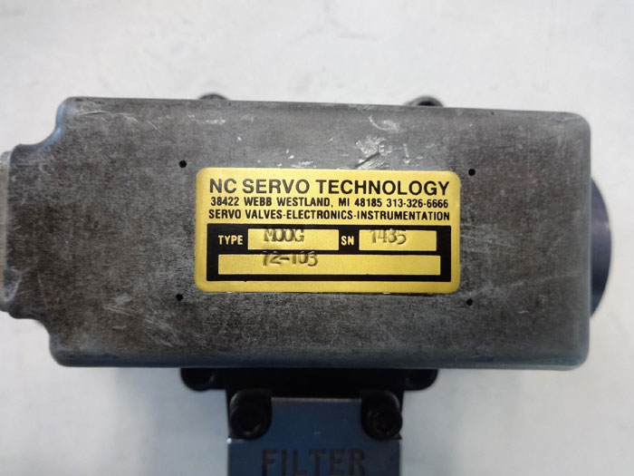 Moog Servo Valve 72-103