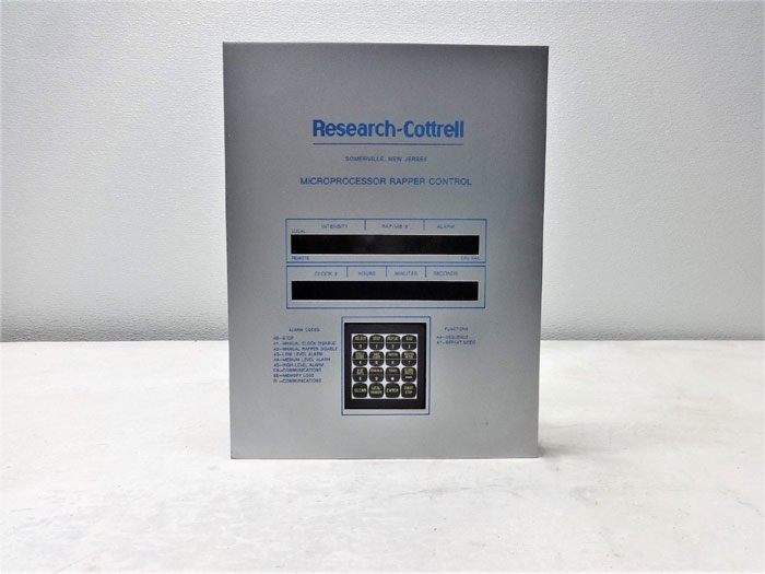 Research Cottrell Microprocessor Rapper Control RK1736, 307897-B