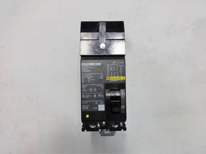 Square D, 50 Amp, 2 Pole, Molded Case Circuit Breaker FA24050AC