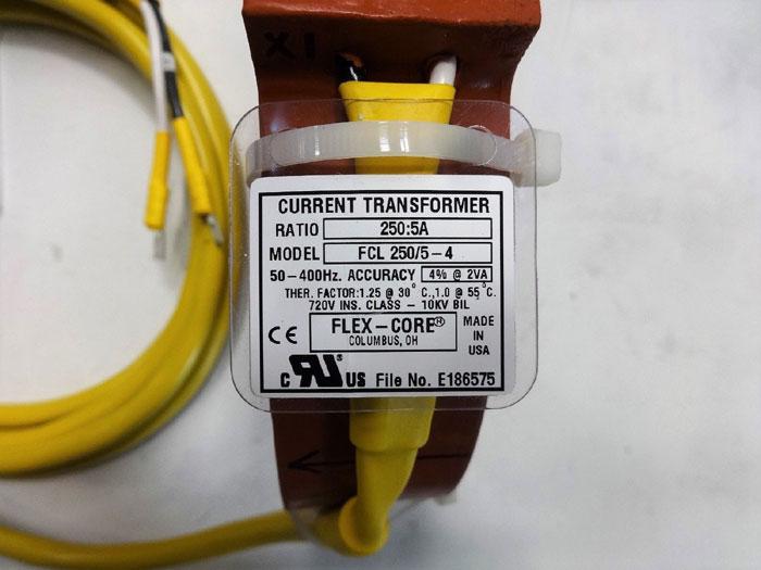 Flex-Core 250:5A Current Transformer FCL 250/5-4