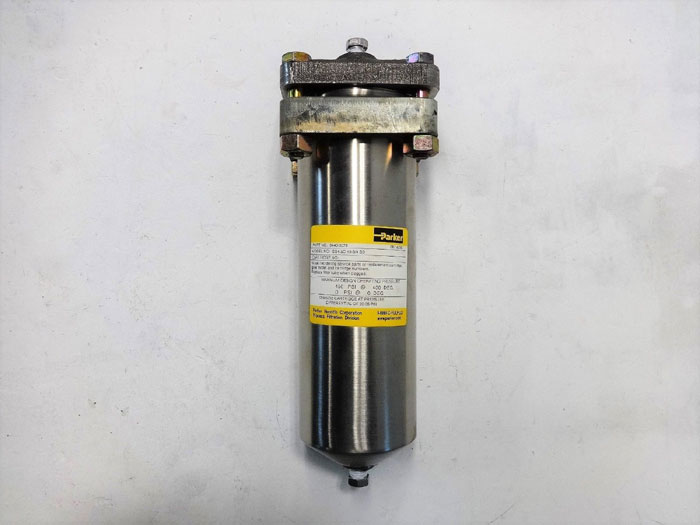 Parker Fulflo 9440-3076 High Pressure Filter Vessel, SS4.5C-10-3/4 SD