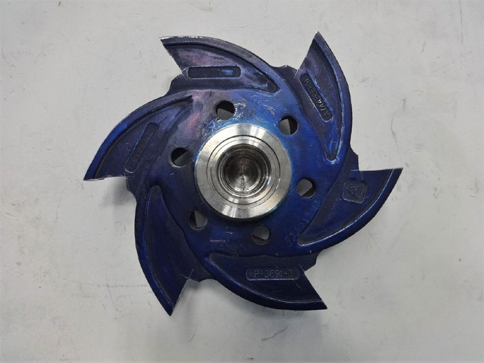 "AEL 6-Vane Pump Impeller, 7-3/8"", CF8M, #P-3691-3"