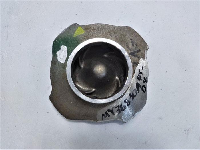 """4-Vane Pump Impeller, 4-1/4"""", Ductile Iron, #MY368030A45"""