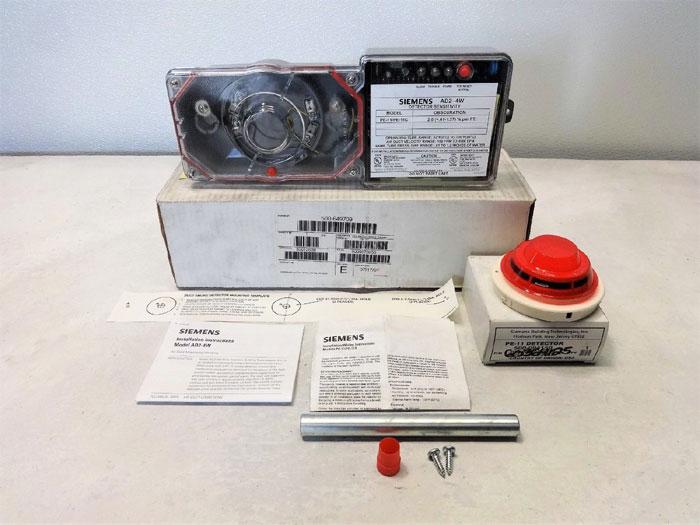 Siemens AD2-4W Duct Smoke Detector, PE-11/PE-11C, 500-649709