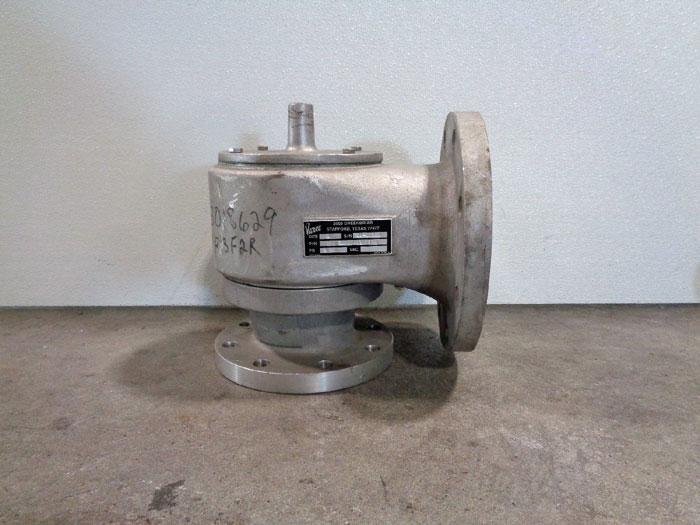 """Varec 4"""" Pressure Vacuum Relief Valve, Aluminum SPC 365 0B41TFFT02"""