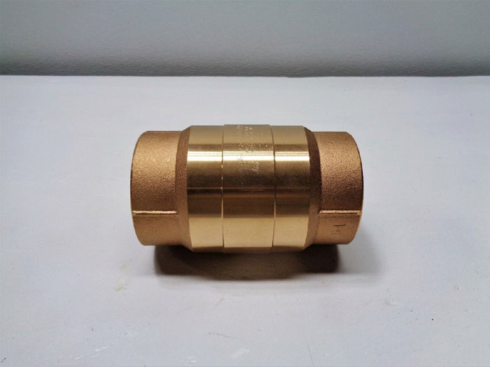 "Strataflo 3"" FNPT Check Valve, #300, 400 LB, Bronze w/ Rubber Poppet"
