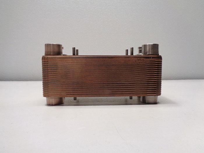 Dover Swep Brazed Plate Heat Exchanger, 36 Plates, B12MTx36/1P-SC-S, 0201198.0