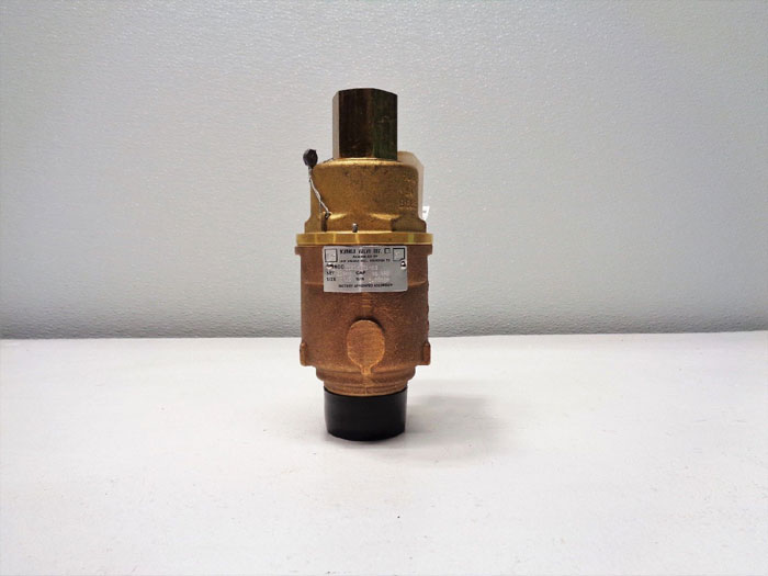 "Kunkle 1-1/2"" NPT Safety Relief Valve, Brass, 0020-G01-MG"