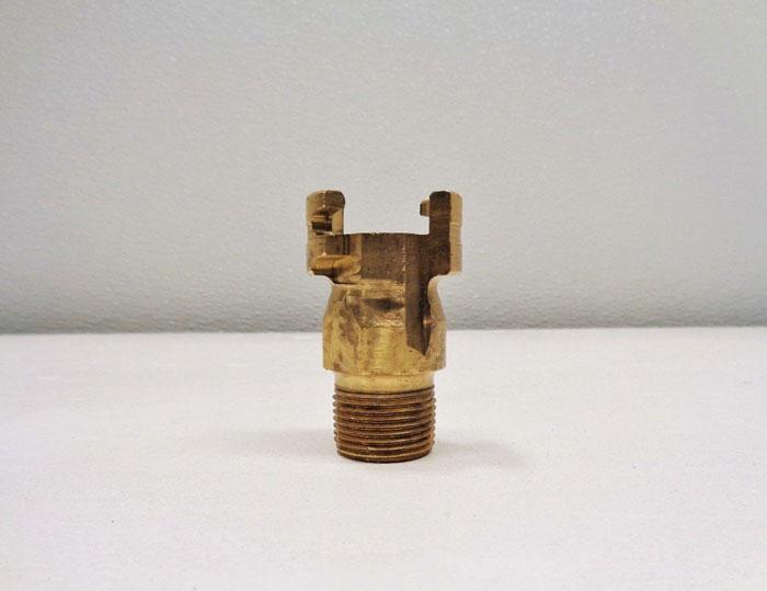 "Dixon 3/4"" Thor Interchange Male Brass Plugs P4M6-8 **Lot of (6)**"