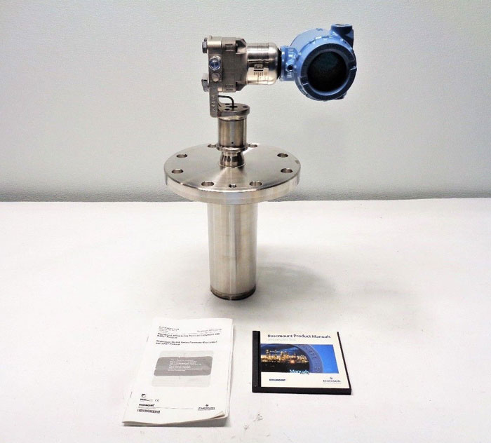 "Rosemount Pressure Transmitter, 4"" 150# Flange & Tube Body 3051S2CD2A2B11A1AE5M5"