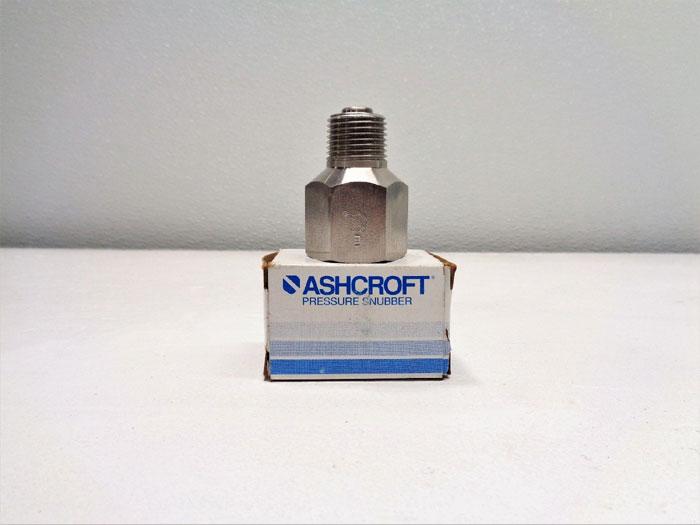 "Lot of (4) Ashcroft Pressure Snubbers 1/2""-1112"